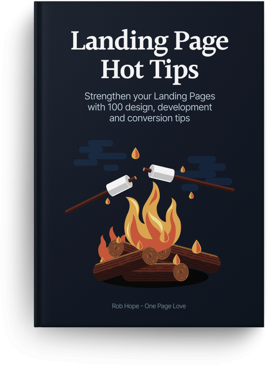 Landing Page Hot Tips EBook Cover