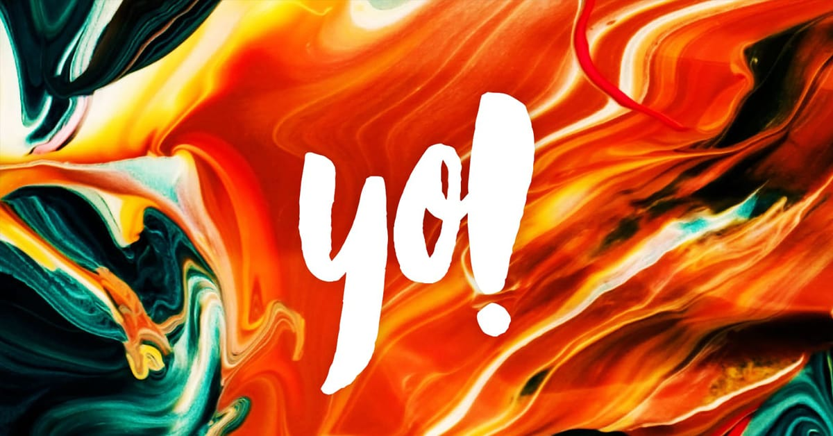 Yo! Colorful Logo