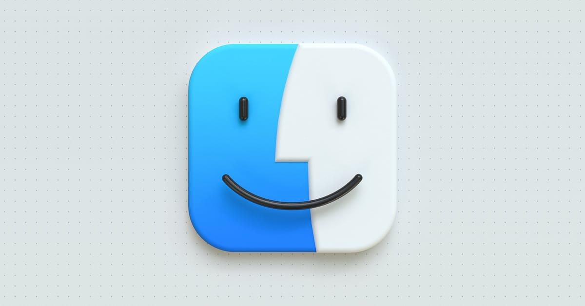 Big Sur 3D Icons