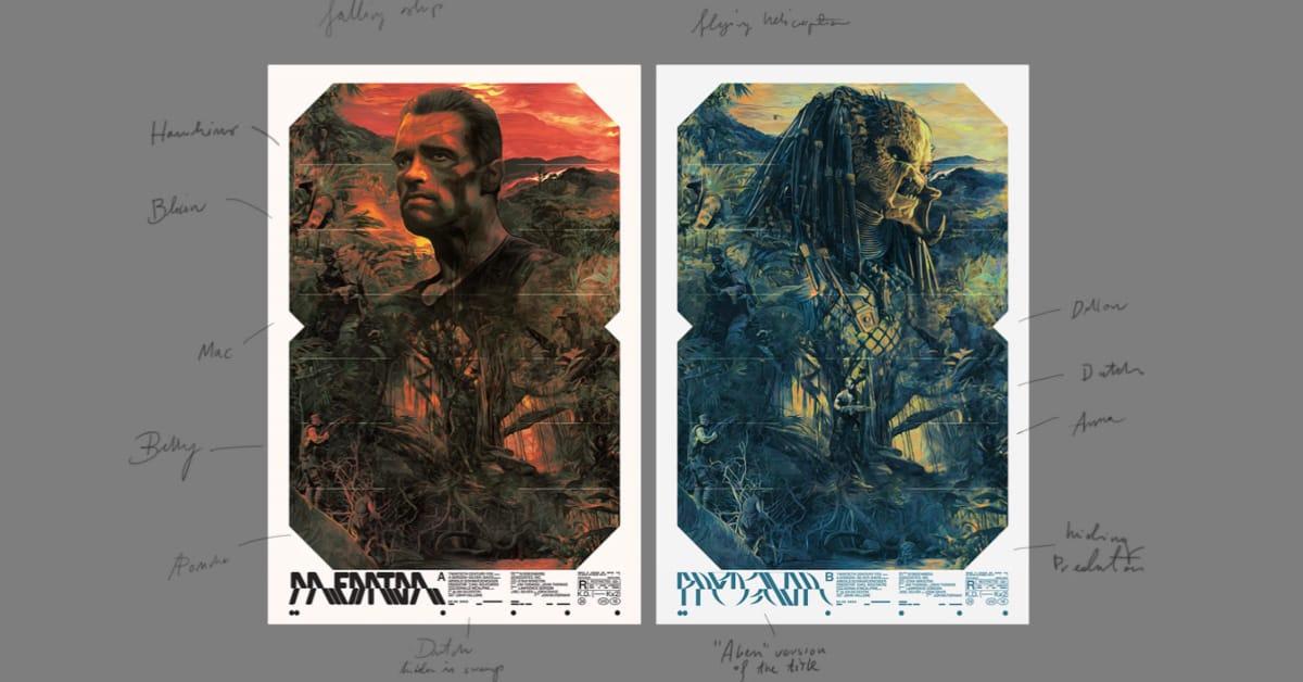 Predator Poster Case-Study