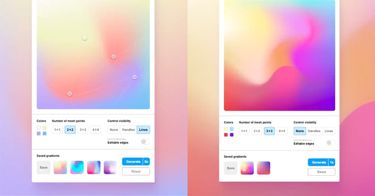 Mesh Gradient for Figma