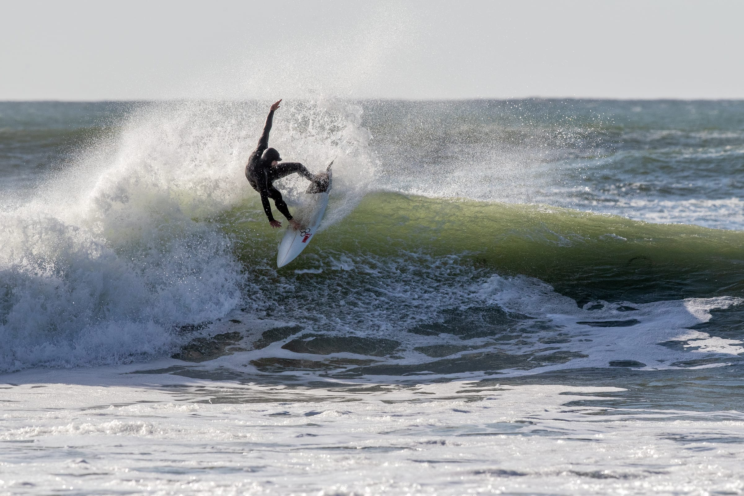 Surfing Elands Bay - pic by John Wilkinson